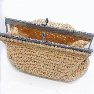 Medium Crochet Clutch with Coin Purse Clasp